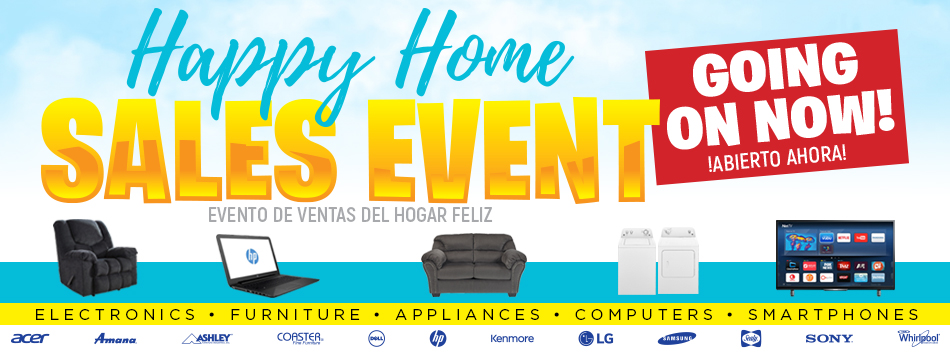 Happy Home Sales Event!