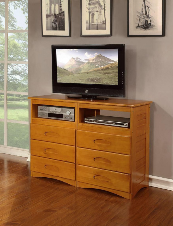 DISCOVERY HONEY FINISH DRESSER (2171)