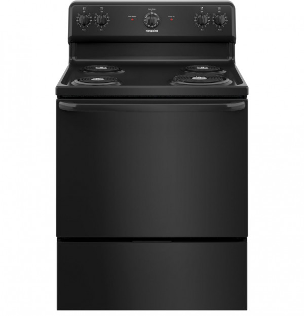 "HOT POINT Hotpoint® 30"" Free-Standing Electric Range (RBS160DMBB)"