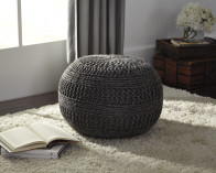 ASHLEY BENEDICT CHARCOAL POUF (A1000559)