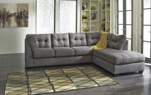 ASHLEY MAIER CHARCOAL RAF CHAISE 2 PC SECTIONAL (45200-17-66)