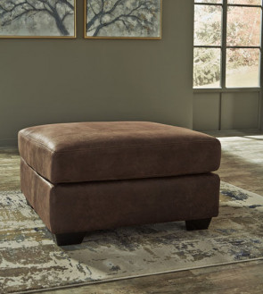ASHLEY BLADEN COFFEE OVERSIZED OTTOMAN (12000-08)