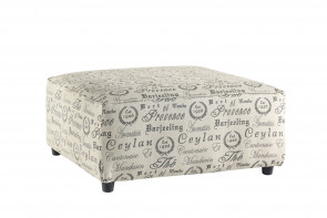 ASHLEY ALENYA QUARTZ OVERSIZED OTTOMAN (16600-08)