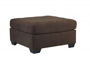 ASHLEY MAIER WALNUT OVERSIZED ACCENT OTTOMAN (45201-08)