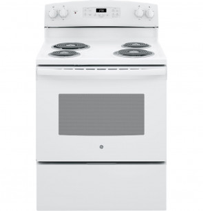 "GE GE® 30"" Free-Standing Electric Range (JB256DMWW)"