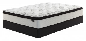 ASHLEY CHIME 12 INCH HYBRID SPLIT QUEEN MATTRESS SET (M69731-M80X62 (2))