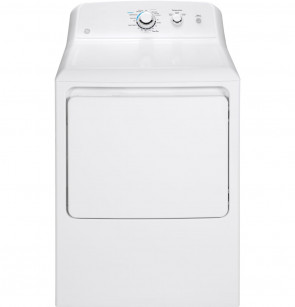 GE GE® 6.2 cu. ft. Capacity aluminized alloy drum Electric Dryer (GTX33EASKWW)