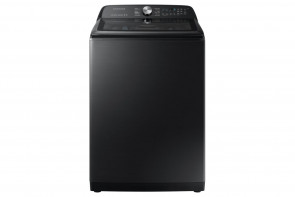 SAMSUNG Samsung TopLoad Washer with SuperSpeed-Blk Stainless (WA50R5400AV)