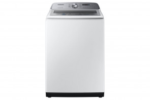 SAMSUNG Samsung TopLoad Washer with Active WaterJet-White (WA50R5200AW)
