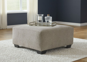 ASHLEY BARANELLO STONE OVERSIZED OTTOMAN (51503-08)